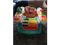 Activity centre fisher price 4 in 1 step play and piano
