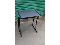 small simple black desk (2)