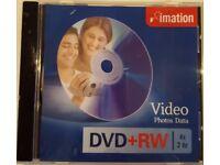 ***PRICE DROP*** 12 Imation DVD+RW discs