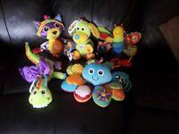 Lamaze baby sensory toy bundle
