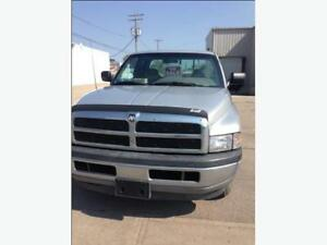 1997 Dodge Power Ram 1500 Pickup Truck with crew cab