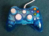Xbox 360/PC Afterglow Blue Controller