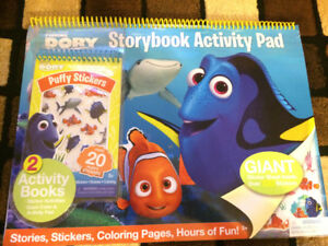 Brand New Finding Dory Activity Pad