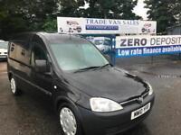 Vauxhall Combo 1.7CDTi 16v 1700 manual black low miles