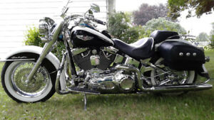 Softail Deluxe ,,,,,,,,,To much CHROME No never enough