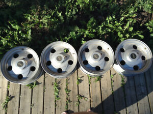 """16""""x8"""" Eagle Alloy Rims. In Good Used Condition, Bolt Pattern 6"""