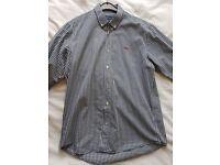 Mens Henri Lloyd checkered shirt