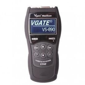 VS890 OBDII OBD2 Car Fault Code Diagnostic Scanner