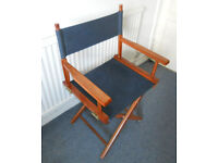 """Folding Canvas Director's Chair from """"Stella"""" props sale"""