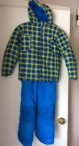 REDUCED Boys Columbia size 6/7 snowsuit in EUC