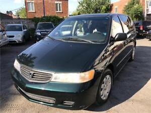 Belle Honda Odyssey 2000,A/C,grpe electric,propre,cuir,demareur