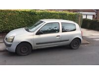 Renault clio 53 plate (2003) 6 months MOT £299 ONO