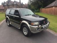 **ONLY 33,000 MILES FROM NEW** - 2002 MITSUBISHI SHOGUN SPORT 2.5 TD - FAMILY OWNED **