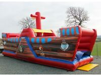 FREE BOUNCY CASTLE HIRE/kiddie rides/stalls/games/bouncy slide/obstacle course/swingboats/candyfloss