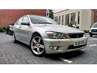 Beautiful Silver Lexus IS200 2.0 Manual, Sunroof, Alloys, LOW MILAGE