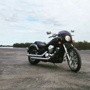 FOR SALE 07 Kawasaki Vulcan 900 custom with Vance & Hines