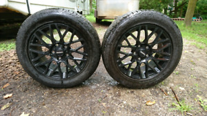Momo revenge 16 inch rims with Goodyear eagle sport rubber