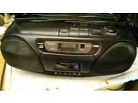 Panasonic cassette/radio