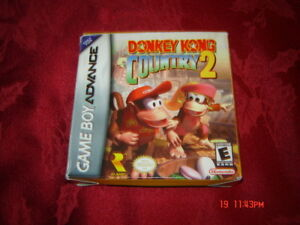 DONKEY KONG COUNTRY 2 GAMEBOY ADVANCE COMPLET NINTENDO