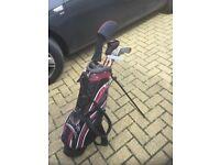 Junior golf set hardly used