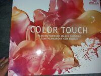 Wella Color Touch Preffessional hair colour chart