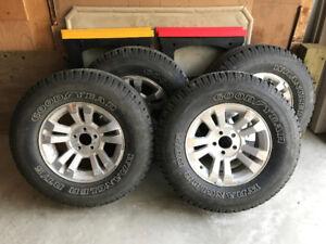 Wrangler Tires on Alloy Rims For Sale