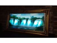 Waterfalls wall frame