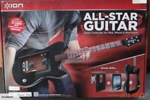 ION All Star Guitar Controller for ipod / ipad