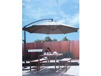 Cantilever canopy- Mocha colour- £45
