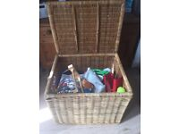 Huge Wicker basket fantastic condition