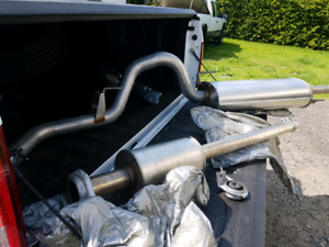 Exhaust and air box