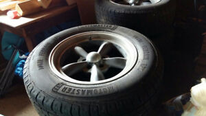 245 65 R17 AND VISION RIMS FOR SALE