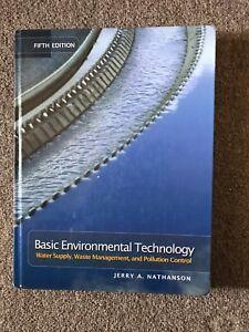 5th Edition Basic Environmental Technology