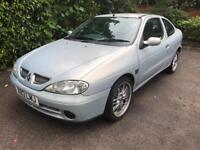 Renault Megane 1.6 coupe **1 LADY OWNER**