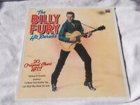 Vinyl LP The Billy Fury Hit Parade Decca TAB 37