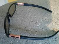 Genuine Oakley grey bronze panel glasses
