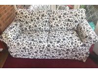 Floral ikea sofa
