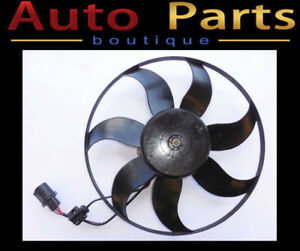 VW Beetle Jetta 2012-2015 Auxiliary Fan Assembly Left 1KM959455F