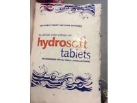 6 Bags of water softener tablets 25kg. Buyer collects .