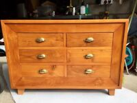 Beautiful solid wood chest of drawers