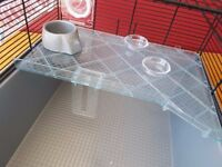 Large wire hamster home.