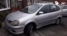 **Nissan Almera Tino 02 for sale**