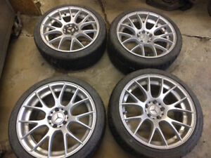 Staggered set  F 225/40-18 R 255/35-18