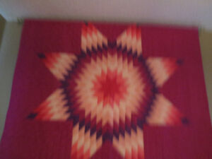 AMISH HAND CRAFTED QUILTS