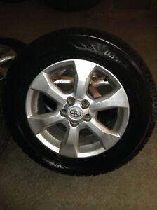 Mags Toyota RAV4 & pneus hiver