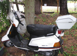 Yamaha 125CC Scooter 1988 only 12000 KM - $1250 (HARRISON HOT SP