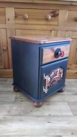 Steampunk Bedside Cabinet
