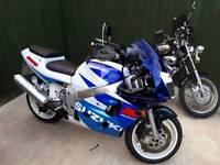 Suzuki GSXR 600 £1650ono Great Condition MoTd til March next year