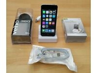 iPod Touch 5th Gen, 16GB, Silver, Good Condition, Rechargeable Speaker & Dock Station