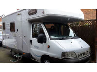 Fiat Ducato Motorhome - Hymer Camp C524